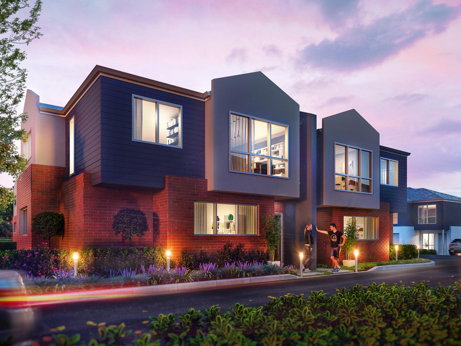 Gillespie park villas 3 bedroom real estate for sale for New home designs canberra