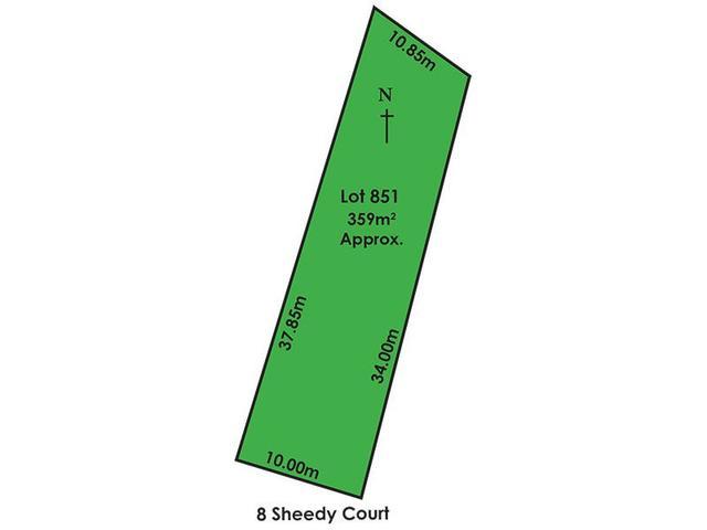 8 Lot 851 Sheedy Court, SA 5109