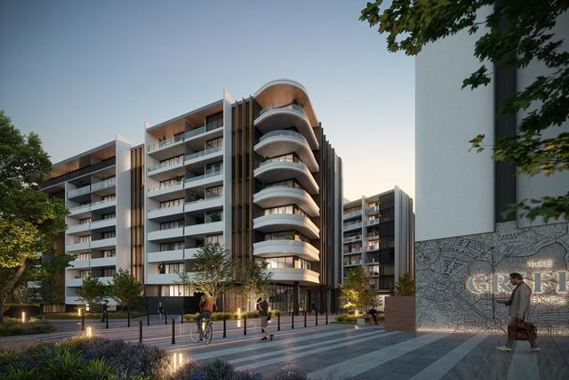 The Griffin, Parkes - 2 Bedroom Apartment - OD-2, ACT 2600