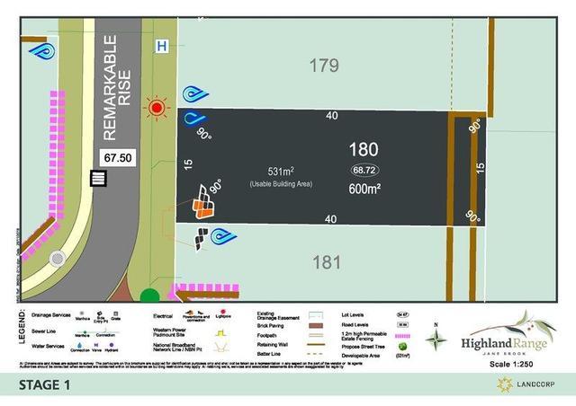 Lot 180 Remarkable Rise, WA 6056