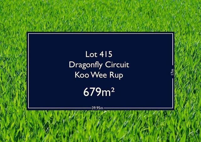 Lot 415 Dragonfly Circuit, VIC 3981