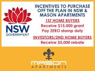 NSW GOV. INCENTIVES