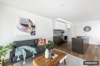 Living Area & Kitchen