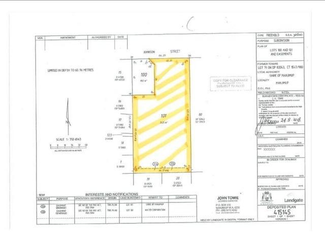 Lot 79 Johnson Street, WA 6258