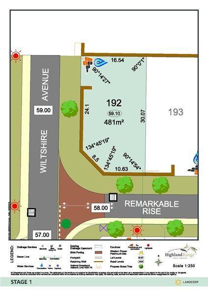 Lot 192 Corner Of Remarkable Rise & Wiltshire Avenue, WA 6056