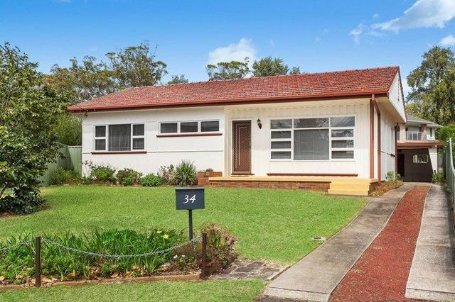 34 Woodford Crescent, NSW 2233