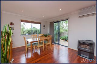Dining Room with Gas Fire