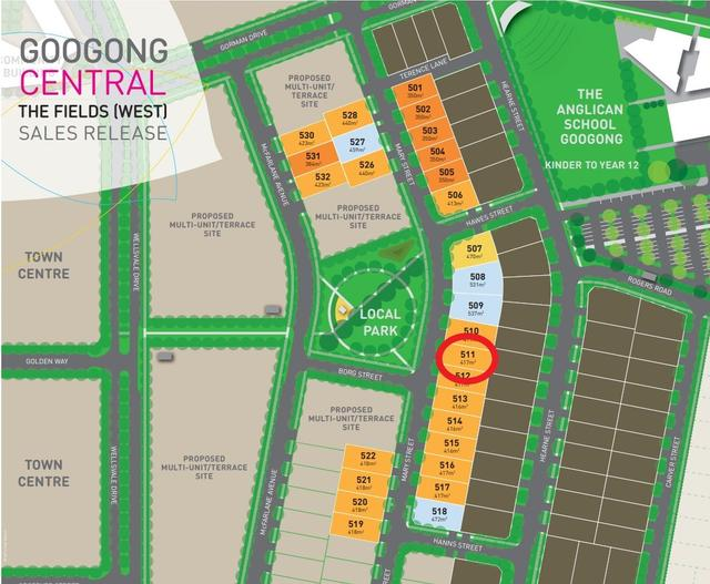STECOL Homes - House and Land Packages - Lot 511 - Mary Street, NSW 2620