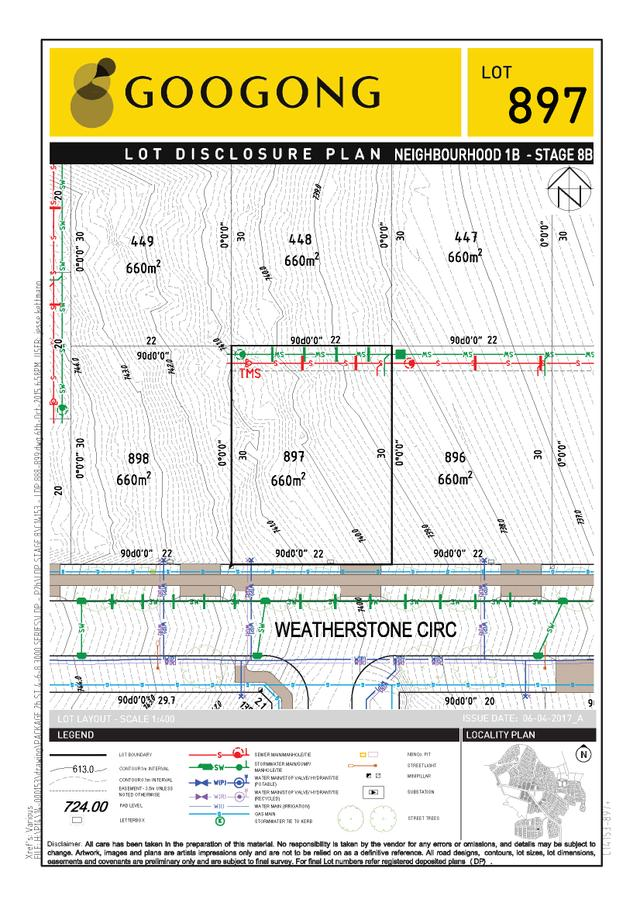 Montgomery Rise - Lot 897, NSW 2620