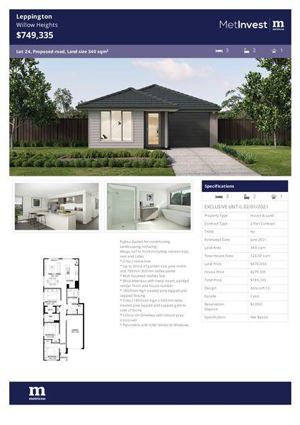 Lot 24 Ingleburn Road, NSW 2179