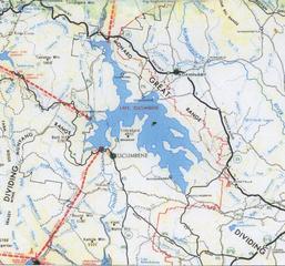 Lake' surrounds