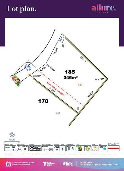 Lot 185/null Allure Estate, WA 6148