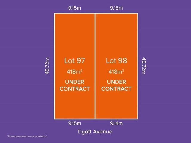 Lot 97 & 98, 62 Dyott Avenue, SA 5086