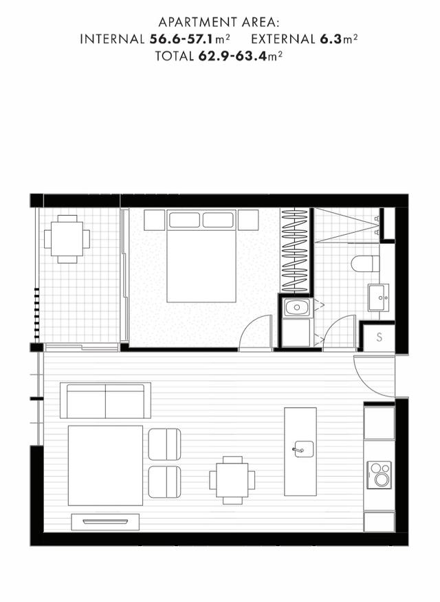 The Capitol Residences - 1 Bedroom Apartment, ACT 2601