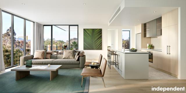 Kiara - 1 bedroom apartment  |  39 McIntyre Street, ACT 2604