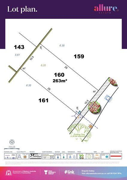 Lot 160/null Allure Estate, WA 6148