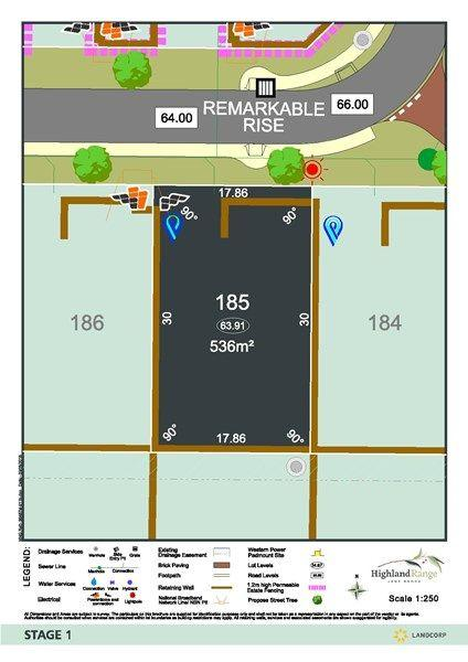 Lot 185 Remarkable Rise, WA 6056
