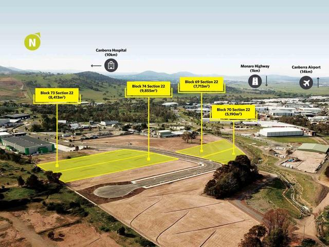 Industrial Land for Sale/10 Paspaley Street, ACT 2620