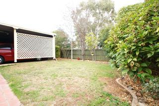 Enclosed front yard