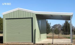 New Shed Carport