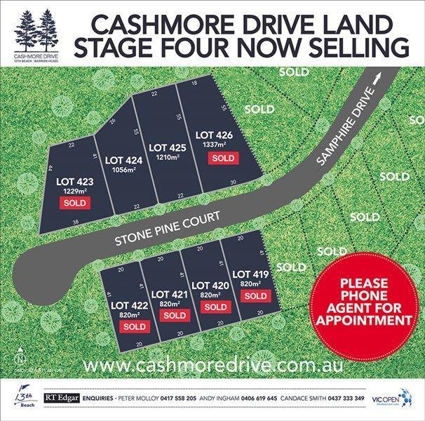 Lots 419-426 Cashmore Drive, VIC 3227