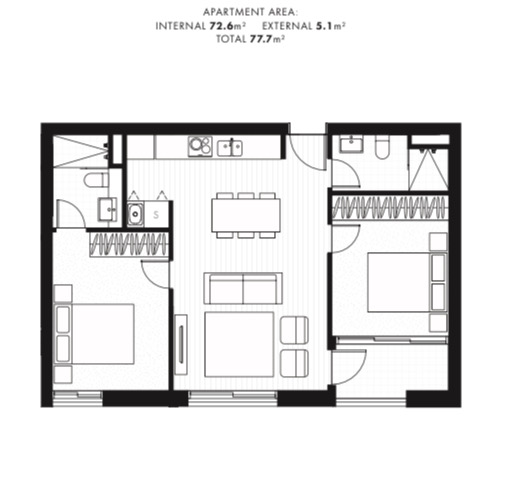2 Bedroom Apartment, City ACT