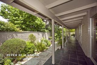 Secluded veranda