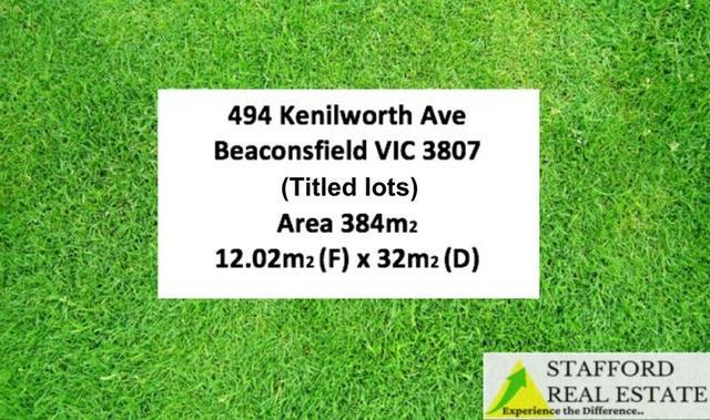494 Kenilworth Avenue, VIC 3807