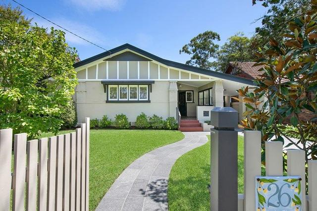 26 Stanley Street, NSW 2067
