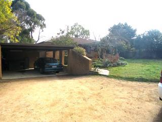 rear yard-driveway