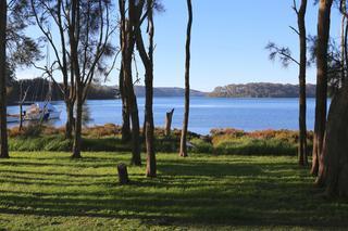 Mummaga lake from the backyard