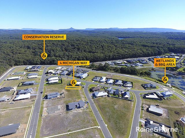 4 (Lot 404) Michigan Way, NSW 2539