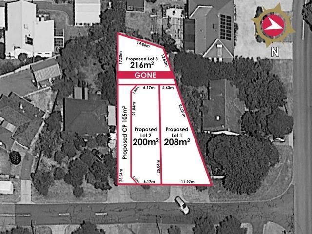 Proposed lots 1-3/ 4 Dolan Street, WA 6156