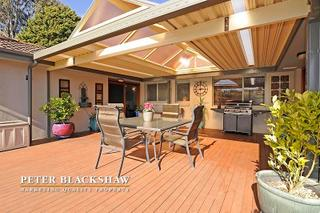 Covered deck area