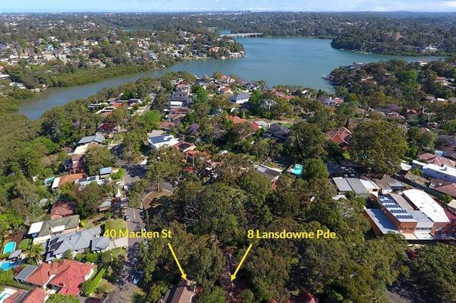 8 Lansdowne Parade (And 40 Macken Street), NSW 2223