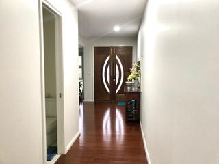 timber floor double doors entry