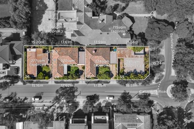 55 Berkeley Street + 22 Callantina Road And 24 + 26 Callantina Road, VIC 3122