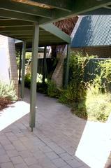 Walkway to complex