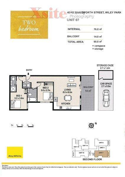 Unit 7 40-42 Shadforth Street,, NSW 2195