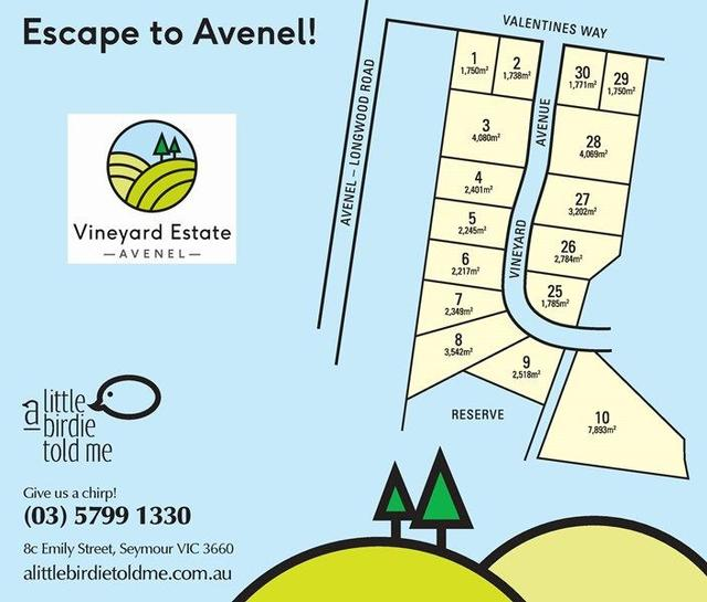 Vineyard Estate Longwood Avenel Road, VIC 3664