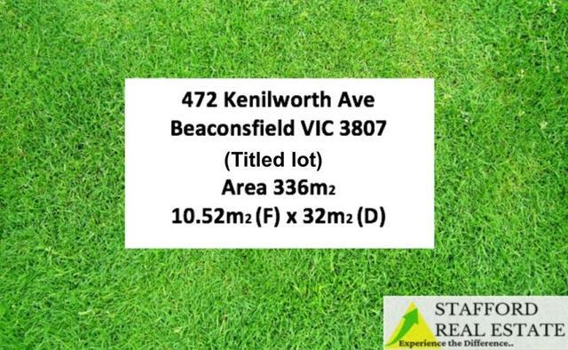 472 Kenilworth Ave, VIC 3807