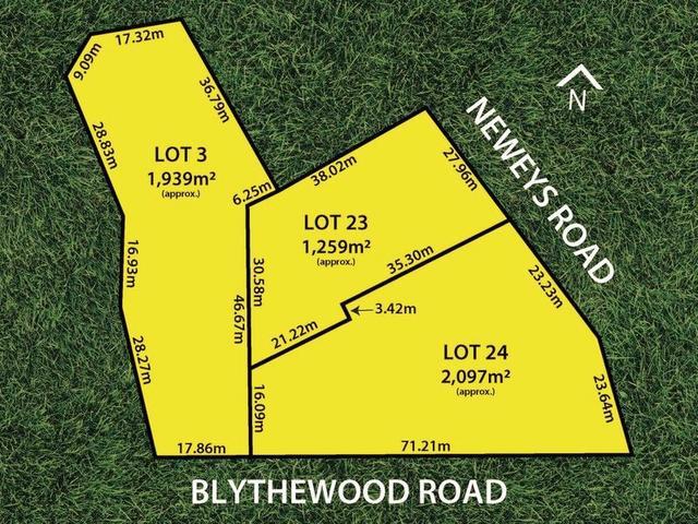 Lots 23 & 24 Neweys & 52 Blythewood Roads, SA 5062