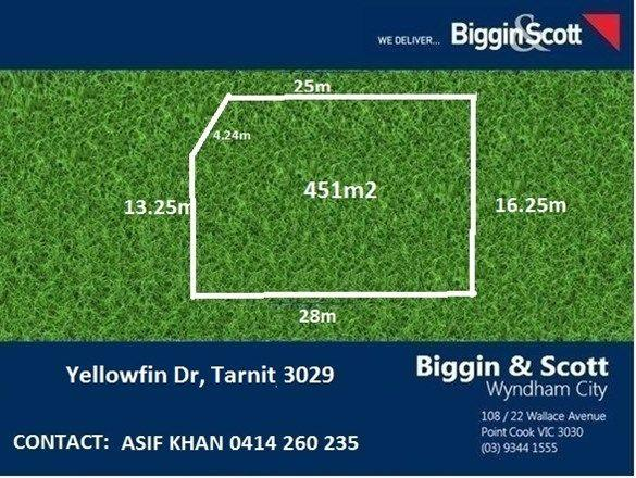 LOT 1824 Yellowfin Drive, VIC 3029